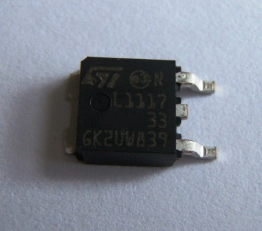 LD1117V33 +3V3 Voltage Regulator TO252 800mA Pack of 1