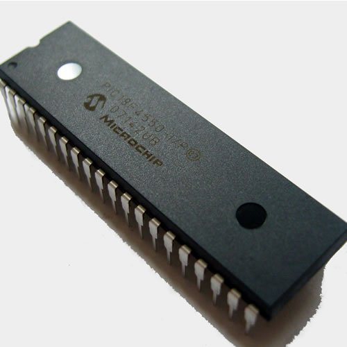 Microchip PIC PIC18F4550 MCU 8 Bit 40 Pin DIP Pack of 1