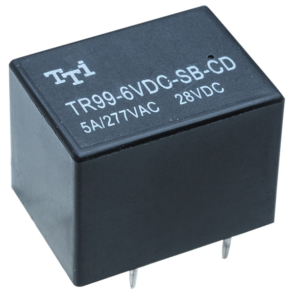 Miniature Pcb Dpdt Power Relay Vdc Coil A Pack Of P on 12vdc Coil Dpdt Relay