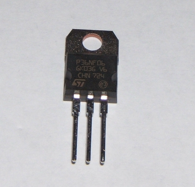 STP36NF06 TO220 N Channel MOSFET 60V 30A Pack of 1